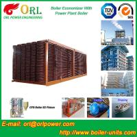 Buy cheap Electrical Water CFB Boiler Economizer Power Plant , Steam Boiler Economizer product