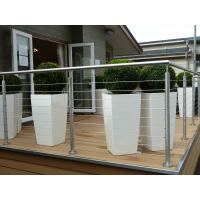 Buy cheap Dubai Stainless Steel Railings Design, Wire Railing For Decks product