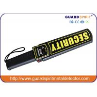 Buy cheap Police Handheld Security Body Scanner Checking Weapons And Guns product