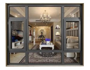 Buy cheap Thermal Aluminium Tilt And Turn Windows Internal Inverted With Screen product