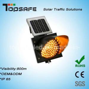 Buy cheap Traffic Anti-High (low) Temperature 400mmsolar Powered Yellow Traffic Warning Flashing LED Light product