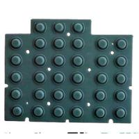 Buy cheap Custom Made Conductive Silicone Rubber Keypad Plus Plastic Surface  Silicone Parts product