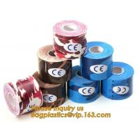 China Kinesiology tape,OEM for Famous Brand Printed Kinetic Tape Kinesiology Tape Sports Tape,medical waterproof cotton elasti on sale