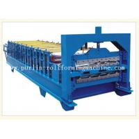 Buy cheap 0.3mm - 0.8mm Color Steel , 12Mpa Roof Double Layer Roll Forming Machine product