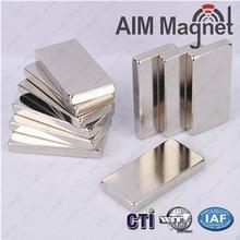 China NdFeB/Neodymium magnet/rare earth permanent Block 50*25*6.35mm on sale