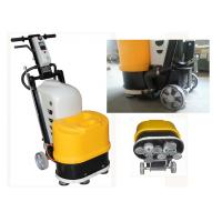 Buy cheap 220V Single Phase 5.5HP Terrazzo Concrete Floor Grinder With Vacuum Port product