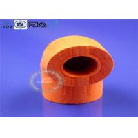 China Red OEM Molded Silicone Parts New Design Open Cell Foam Tube Type on sale