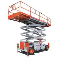 Buy cheap Elevated Aerial working platform Electric Scissor Lift for 2000mm , 3000mm product