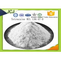 Buy cheap CAS 136-47-0 Painkiller Powder Tetracaine Hydrochloride For Local Anesthetic product