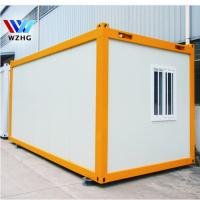 China low cost Container homes sale,20ft modular kit prefabricated house prices on sale
