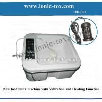 Quality New  detox vibrator machine foot spa device with heating to keep water warm for sale