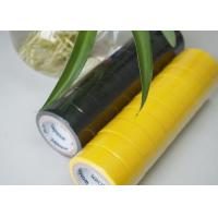 Buy cheap Flame Retardant Yellow / Black PVC Electrical Tape Low Lead And Low Cadimum product