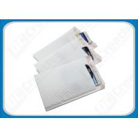 Buy cheap White Smooth LDPE Poly Bubble Envelopes , Flexible Padded Mailing Bags product
