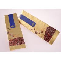 Buy cheap Three Seal Flat Bottom Paper Food Bag Food Flexible Packaging ISO 9001 product