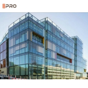 Buy cheap Profile Aluminium Heatproof Industrial Glass Curtain Wall ISO9001 standard product