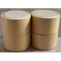 Quality Self Adhesive White Kraft Paper Tape For Splicing Bottom Release Liner for sale