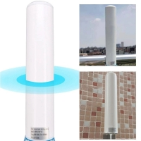 China Reinforced dual 4G LTE 18dbi WiFi outdoor waterproof internet satellite cylinder antennas for communications on sale