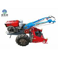 China Walking Tractor Potato Harvester / Latest Agricultural Machinery 60-80cm Harvest Width on sale