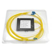 Buy cheap Singlemode Connectorized LC/UPC 1x4PLC (Planar Lightwave Circuit) Splitters product