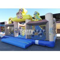 Buy cheap Amusement Park Pirate Ship Inflatable Toddler Playground With Quality Assurance product