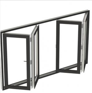 Buy cheap Accordion Style Modern Aluminium Windows With Retractable Screen product