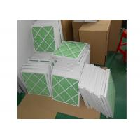 Buy cheap Disposable Z - Line Pleated Panel Air Filters , Industrial Air Purifier With Washable Filter product
