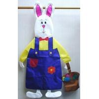 China Sewn Stuff W2104 - Bunny w/basket wholesale