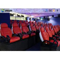 Buy cheap Dynamic Electric 9D Movie Theater For Commercial Shopping Mall / 9D Action Cinemas product