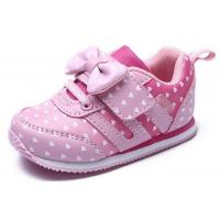 Buy cheap Soft Bottom Pink Little Kids Shoes Baby Girl Shoes Breathable EUR 21-25 Size product