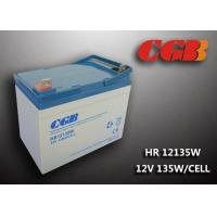 Buy cheap HR12135W  12V 33Ah Energy Storage Battery , AGM Rechargeable V0 Battery product