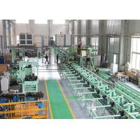 Buy cheap Carbon Steel / Cr-Mo Alloy Steel ERW Spiral Tube Finning Machine / Production Line product