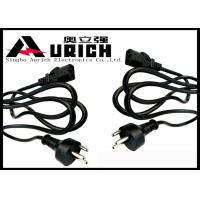 Buy cheap Replacement Denmark Computer Monitor Power Cord 3 Round Pin Low Profile product