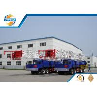 High Efficiency 120t Workover Oil Drilling Equipments Truck Mounted Drilling Rig