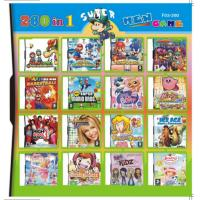 Buy cheap 32GB 260 in 1 260 in one Multi games Card for DS/DSI/DSXL/3DS Game Console product