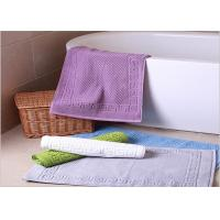 Buy cheap Decorative Hotel Bath Mats / Plush Bathroom Rugs Washable Disposable product