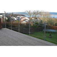 Discount Stainless Steel Posts Clamp Railing Systems Glass Balcony Balustrade