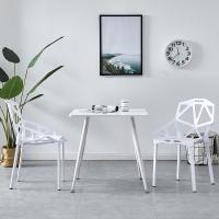 Buy cheap White Color Center Coffee Table , Small Space Square Dining Table With Chairs product