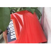 Buy cheap Red Epoxy Polyester Coating Electrostatic Spray High Temperature Resistance product