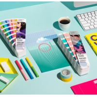 Buy cheap 2017 pantone guide set coated and uncoated color card pantone gp1601n pantone colour guide chart solid coated color card product