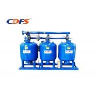Buy cheap 220V / 50hz Multimedia Sand Filter , Blue DP / Time Fast Sand Filter Automatic product