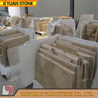 Buy cheap Beige Yellow Travertine Tiles French Pattern 2.7g/Cm3 Polished product