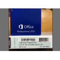 China Genuine Office 2013 Pro Download , Office 2013 For Windows 10 Retail Pack on sale