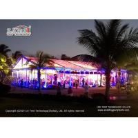 Buy cheap 15m Clear Span Transparent Marquee Tent For 500 People Temporary Event Party product