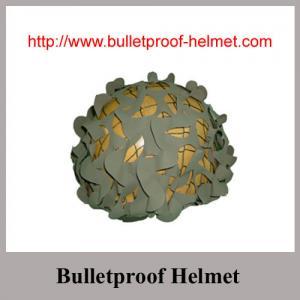 China Option colors Bulletproof Helmet with ballistic aramid fabric on sale