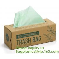 Buy cheap Home Compostable Eco Green Bioplastic Food Storage Resealable PLA Bags,Food, Gift, Household, Restaurant, Store, Grocery product