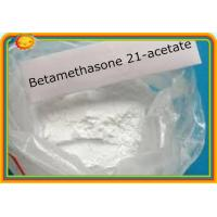 Buy cheap Betamethasone 21-Acetate CAS 987-24-6 Prohormone Supplements Anti - Inflammatory product