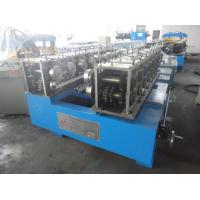 China Standing Seam Roof Panel Roll Forming Machine Container Fix Type PPGI PPGL 320-400 Mpa on sale