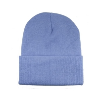 Buy cheap Soft Warm Colorful 60cm Winter Knit Beanie With Woven Label product