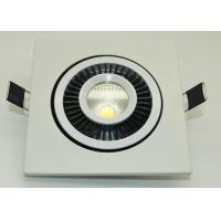 Buy cheap IP45 COB Led Ceiling Downlights 90-95lm / W High Power Led Downlight product