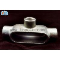 Buy cheap Type LL / LR / LB / C / T Rigid Conduit Body , Electrical Conduit Body product